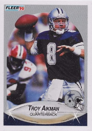 1990 Fleer Troy Aikman