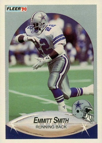 1990 Fleer Update Emmitt Smith