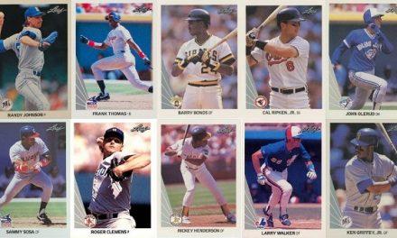 1990 Leaf Baseball Cards – 11 Most Valuable