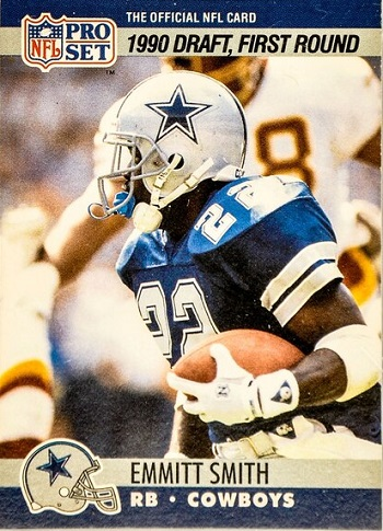 1990 Pro Set Emmitt Smith