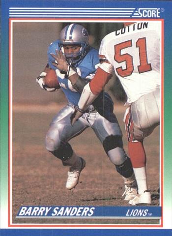 1990 Score Barry Sanders