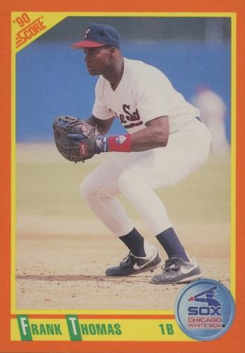 1990 Score Traded Frank Thomas