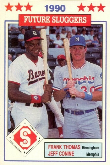 1990 Southern League All-Stars Donn Jennings Thomas-Conine (#46)