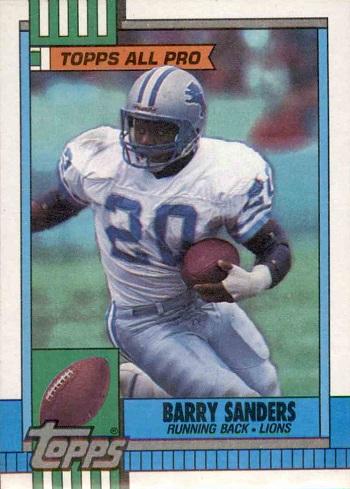1990 Topps Barry Sanders