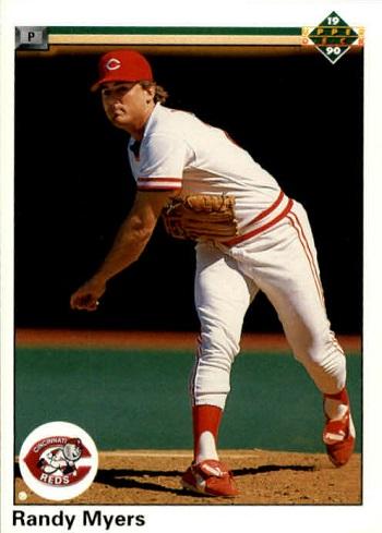 1990 Upper Deck Randy Myers