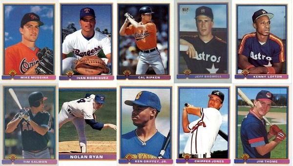 1991 Bowman Baseball Cards – 10 Most Valuable