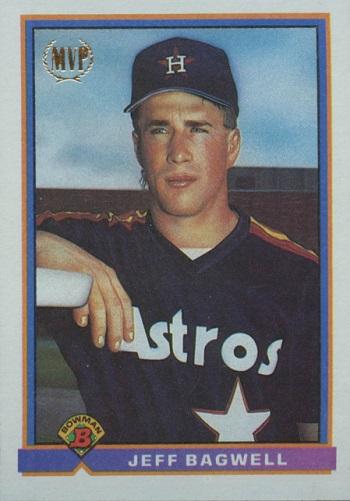 1991 Bowman Jeff Bagwell Rookie Card
