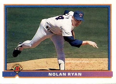 1991 Bowman Nolan Ryan