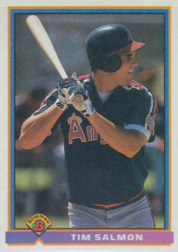 1991 Bowman Tim Salmon Rookie Card