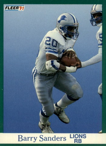 1991 Fleer Barry Sanders