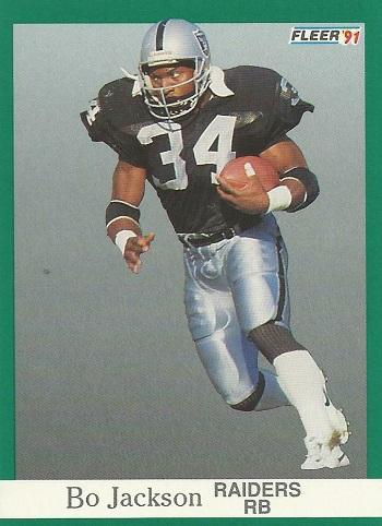 1991 Fleer Bo Jackson