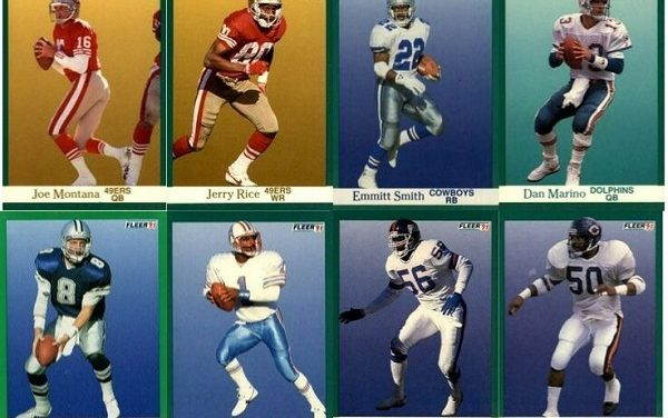 1991 Fleer Football Cards – 10 Most Valuable