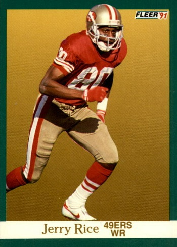 1991 Fleer Jerry Rice