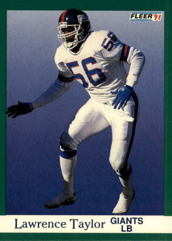 1991 Fleer Lawrence Taylor