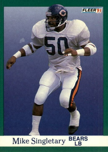 1991 Fleer Mike Singletary