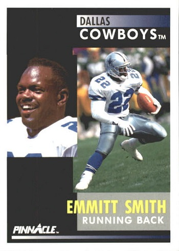 1991 Pinnacle Emmitt Smith