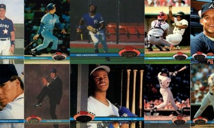 1991 Stadium Club Baseball Cards – 10 Most Valuable