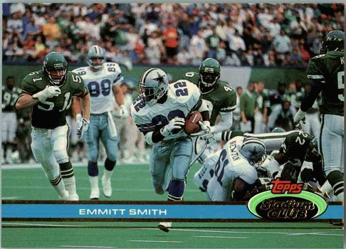 1991 Stadium Club Emmitt Smith