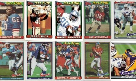 1991 Topps Football Cards – 10 Most Valuable