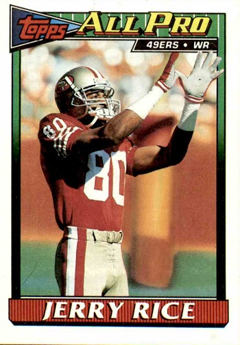 1991 Topps Jerry Rice