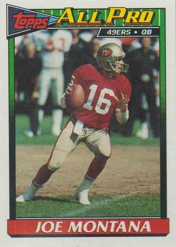 1991 Topps Joe Montana