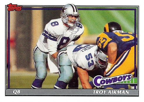 1991 Topps Troy Aikman