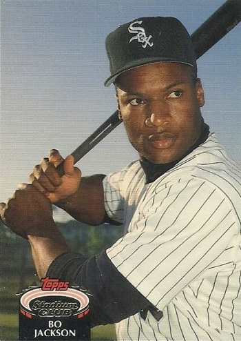 1992 Stadium Club Bo Jackson