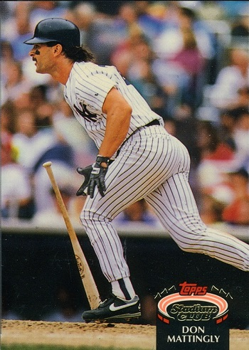1992 Stadium Club Don Mattingly