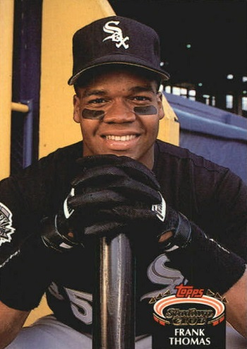 1992 Stadium Club Frank Thomas