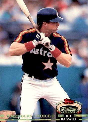 1992 Stadium Club Jeff Bagwell