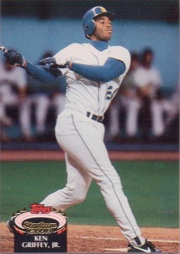 1992 Stadium Club Ken Griffey Jr. (#400)
