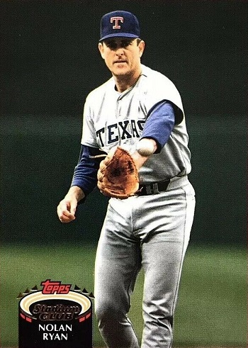 1992 Stadium Club Nolan Ryan