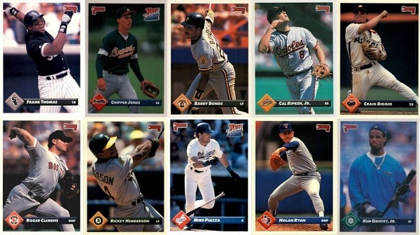 1993 Donruss Baseball Cards – 10 Most Valuable