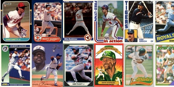 ALCS MVP Winners – Best Baseball Cards from 1980 through 1993
