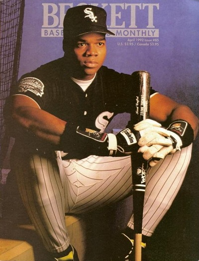 April 1992 Beckett Baseball Cards Monthly Frank Thomas