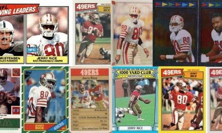 The First 10 Jerry Rice Football Cards – Rookies and Oddballs