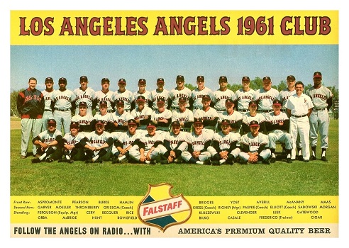 falstaff 1961 los angeles angels team