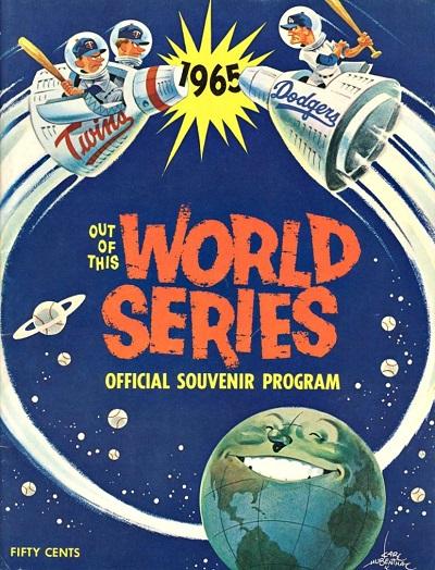 1965 World Series Program