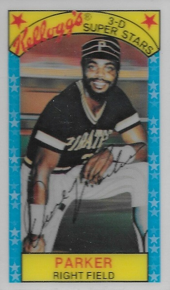 1979 Kelloggs Dave Parker (#21)