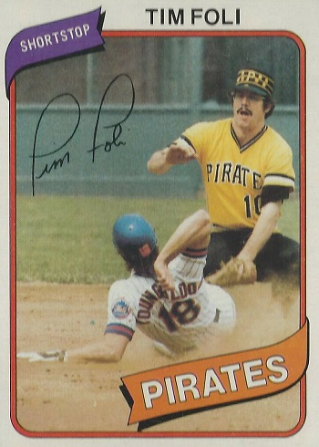 1980 Topps Tim Foli (#246)