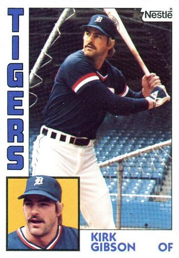 1984 Nestle Kirk Gibson (#65)