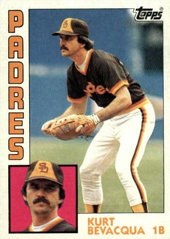 1984 Topps Kurt Bevacqua (#346)