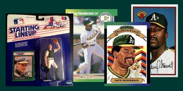 1989 World Series in Baseball Cards … One per Game!