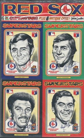 1976 Linnett Superstars Reds Set