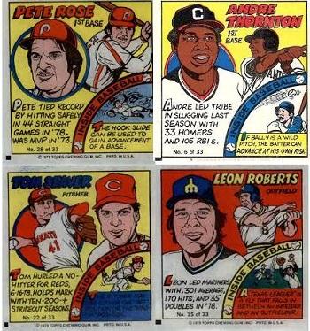 1979 Topps Baseball Comics Set
