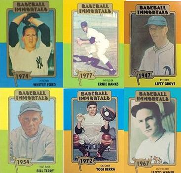1980 TCMA Baseball Immortals