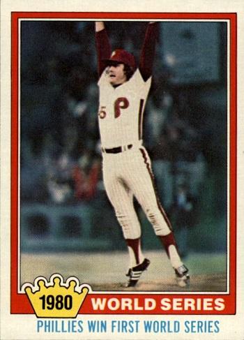 1981 Topps Tug McGraw World Series