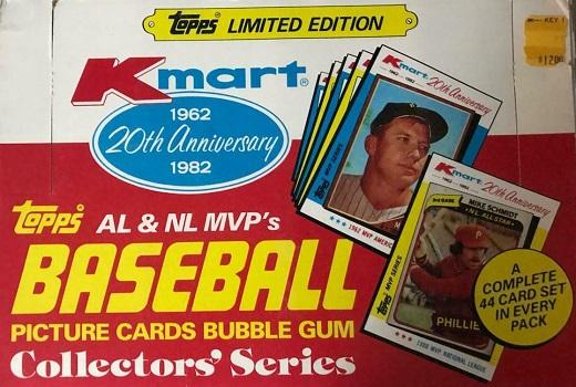 1982 Topps Kmart 20th Anniversary