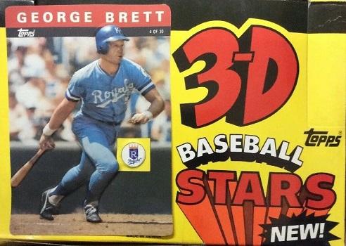 1985 Topps 3D Baseball Cards
