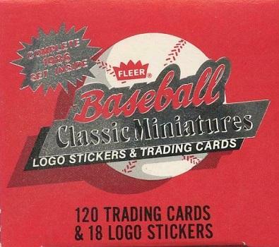 1986 Fleer Mini Baseball Cards